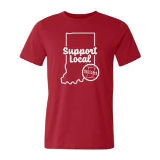 Red Support Local Tee