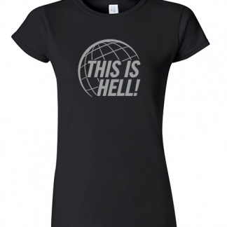 Black Tee in Women's Cut